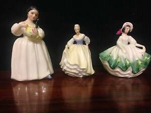Three Royal Doulton Figurines Vale Park Walkerville Area Preview