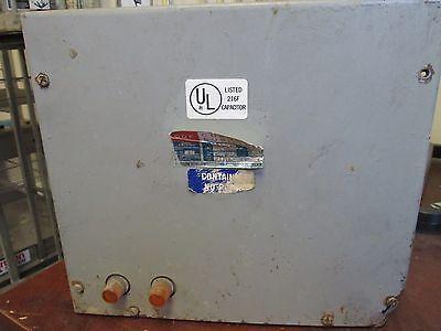 Cornell Dubilier Capacitor Ims10044f33 4 Kvar 480v 60hz 3ph Used