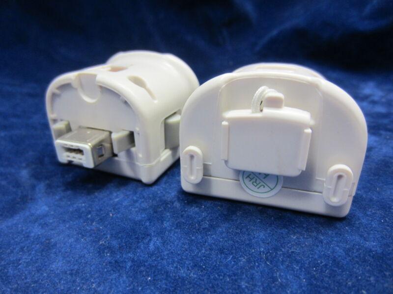 2 x Old Skool Motion Plus Sensor Adapters for Nintendo Wii / WiiU - White