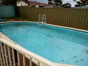 """"""" ABOVE GROUND OVAL POOL  ..FENCE NOT INC.. Beverley Charles Sturt Area Preview"""