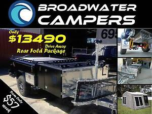 SALE ON NOW! Rear Folding Hard Floor Camper Trailer Off Road 4wd Brisbane City Brisbane North West Preview