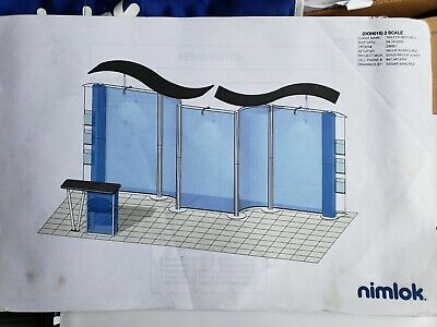 F 20 X 10 Or 10 X 10 Nimlok Modular Tradeshow Booth