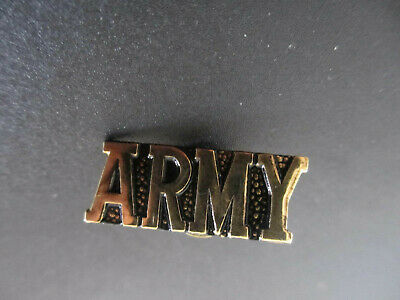 US USA Army  Military Hat Lapel Pin