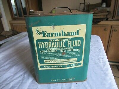 Vintage 2 Gallon Oil Can Farmhand Hopkins Minnesota Only 1 On Ebay Lot 20-97