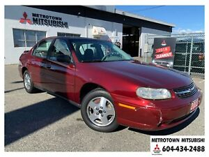2003 Chevrolet Malibu Base; Local BC vehicle! LOW KMS!