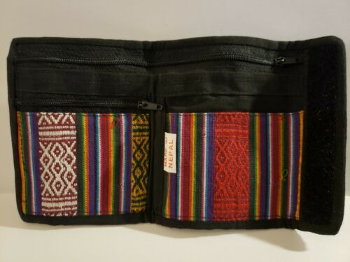 Nepalese velco wallet