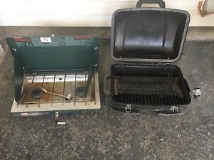 Camping stove and bbq