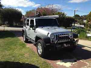 2012 Jeep Wrangler Unlimited Convertible Yanchep Wanneroo Area Preview