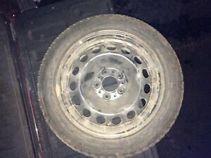WINTER TIRES - 225-50-R17 - on Rims! Needs to go!
