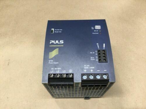 PULS DIMENSION QT40.241 POWER SUPPLY (Tote 102)