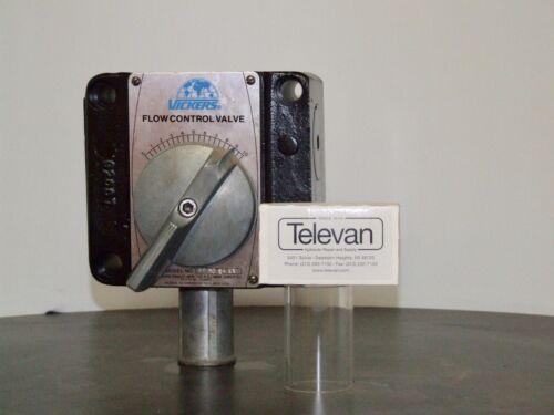 VICKERS HYDRAULIC FLOW CONTROL VALVE FG 06 32 11   FG063211