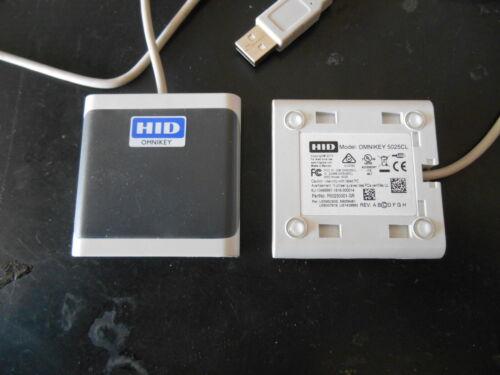 HID Omnikey 5025CL Desktop Contactless USB Smart Card Reader P/N: R50250001-GR