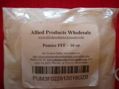 Pumice Powder  3 Grades  Ffff  Fff  Ff  1 Oz To 5 Pounds