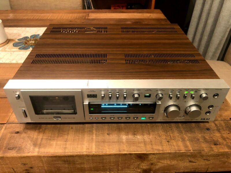 WORKING - AKAI GX-F90 ~ 3 Head ~ Direct Drive Cassette Deck