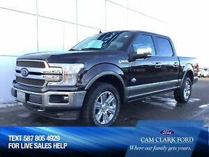 2018 Ford F-150 King Ranch - DEMO - NEW PROGRAMS AVAILABLE