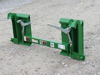 John Deere 200x 200cx H120 H130 H160 D120 D160 To Skid Steer Adapter Conversion