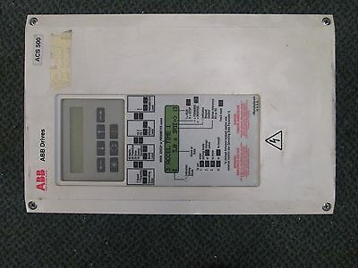 Abb Acs501 Ac Drive Acs501-010-4-00p5 10hp Used