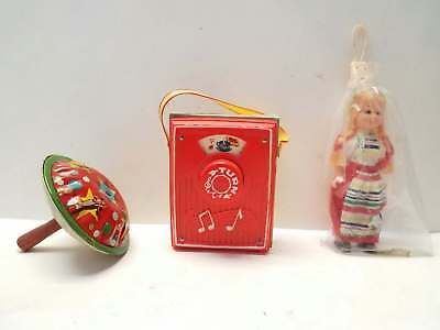 Used, Fisher Price Music Box Pocket Radio Do Re Mi Mini Doll Noise Maker Kids Toys for sale  Conway Springs
