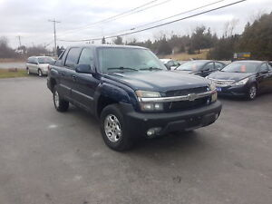 2004 Chevrolet Avalanche 4X4 SAFETIED