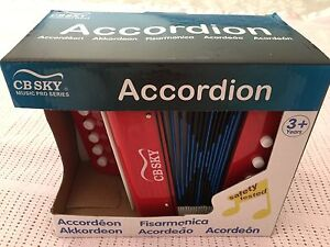 Kids Accordion ~Brand New in box~RRP $20 Macquarie Fields Campbelltown Area Preview