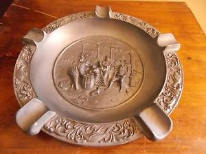 Impressive Large 'Made in Italy' Pewter? Vintage Ash Tray Armidale Armidale City Preview