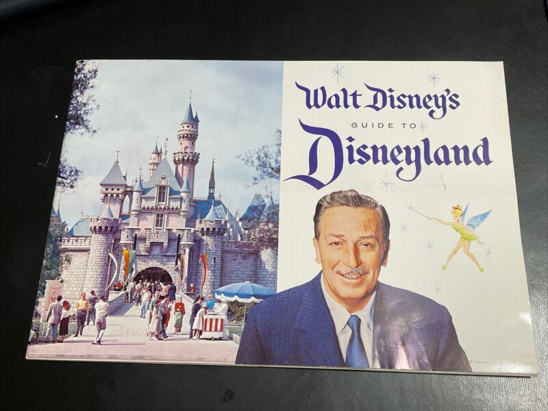 Vintage 1958 Walt Disney's Guide to Disneyland Souvenir Booklet Very Good