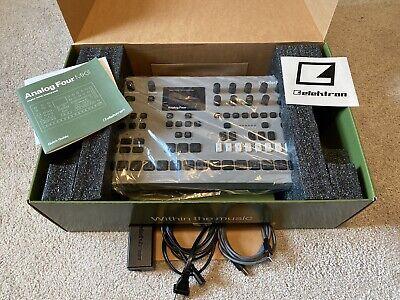 Elektron Analog Four MKII 4-Voice Analog Synthesizer USB MIDI Sequencer MK2