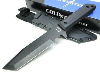 Cold Steel 80PGTK Black GI Tanto Fixed Knife + -