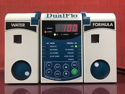 Compat DualFlo Enteral Feeding Pump Model 199255 120V 60Hz, 187mA #1663