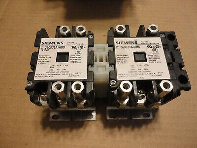 Siemens 34cf33ajabd 2 Speed Controller Contactor Miller Xmt 304
