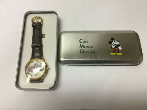 Cast Member Original Mickey Mouse Watch Limited Edition to 2500