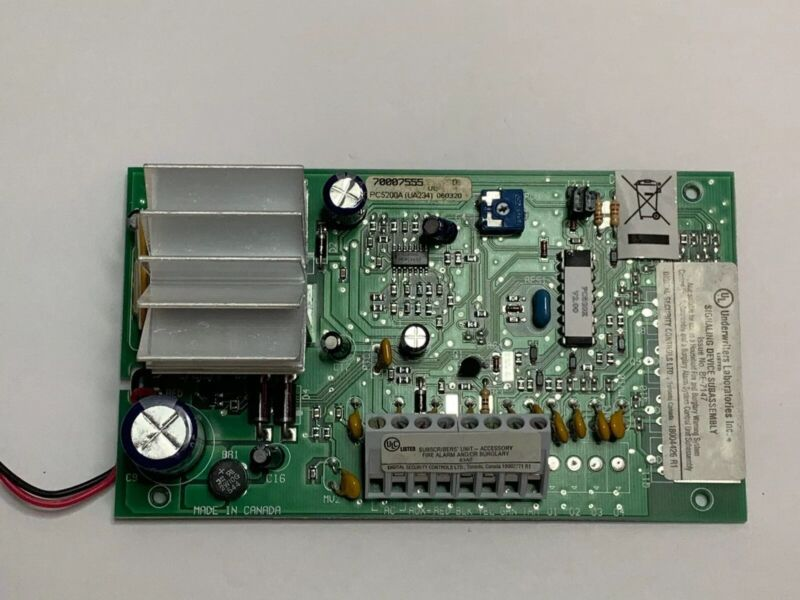 DSC PC5200 Power Series Power Supply Module - Tested And Works!