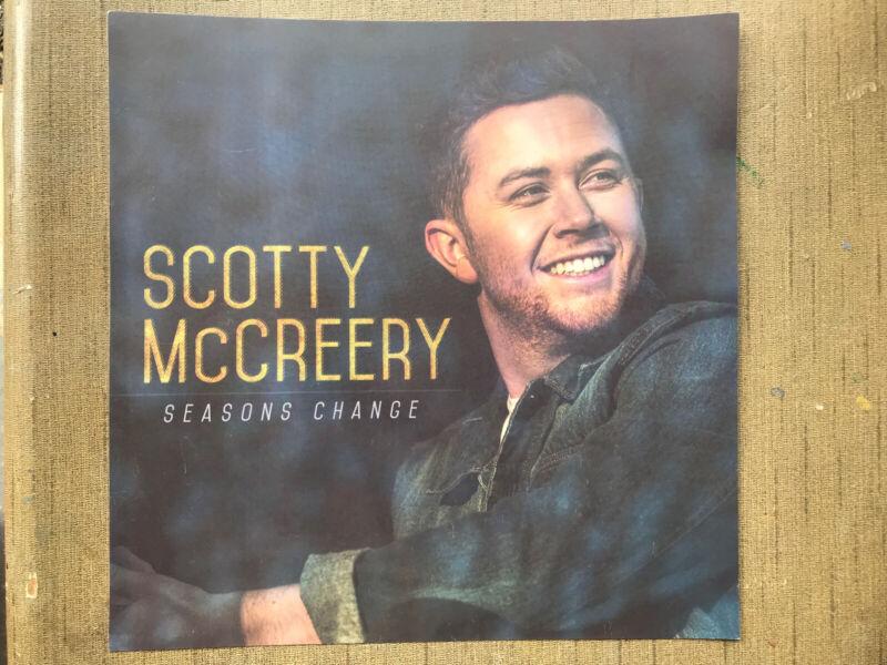 Scotty McCreery - Seasons Change Album Flat Promotional 12x12