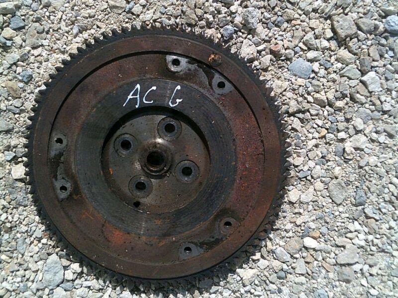 Allis Chalmers G Tractor original AC engine motor flywheel & starter ring gear