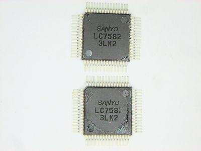 Lc7582 Original Sanyo 64p Smd Ic 2 Pcs