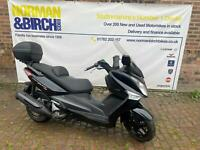 Sym Joymax 300 i maxi scooter, 2016, low miles, finance delivery