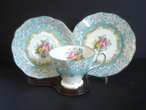 Royal Albert ~ Enchantment ~ Bone China, Tea Cup, Saucer and Bread Plate Set (s)