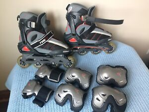 FIREFLY SL175 JUNIOR Roller Blade Size 36-39 with safety Gear