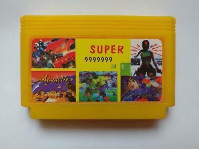 6 in 1 games ( SUPER MARIO BROS DUCK HUNT ETC) - Famicom FAMICLONE Nes Cartridge ()