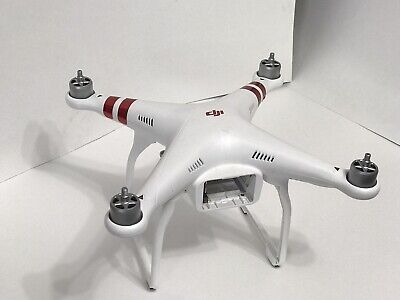 DJI Spirit 3 Standard QUADCOPTER W321 UNTESTED  Crash Damage Needs Repair ONLY