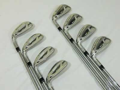 New LH Taylormade M1 Iron set 4-AW Steel XP 95 S300 Stiff irons M-1 4-PW+AW for sale  Shipping to Canada