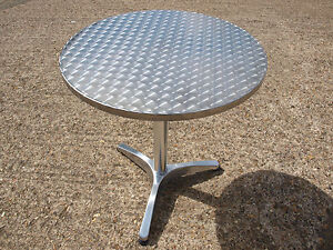 Brand-New-Aluminium-Round-Outdoor-Pedestal-Bistro-Restaurant-Cafe-Tables
