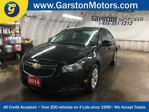 2014 Chevrolet Cruze LT*TURBO*BACK UP CAMERA*KEYLESS ENTRY w/REM