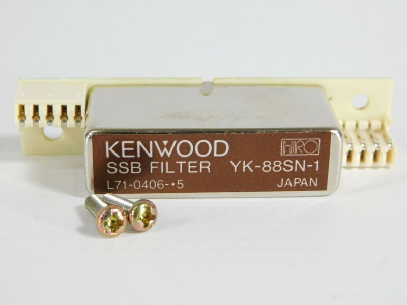 Kenwood YK-88SN-1 SSB Filter for TS-940S 930S 450S 850S (with screws, nice)