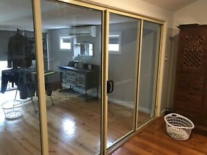 Aluminum Double sliding door and window