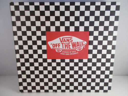 "VANS ""Off The Wall"" Stories Of Sole From VANS Originals Hardcover Display Copy"