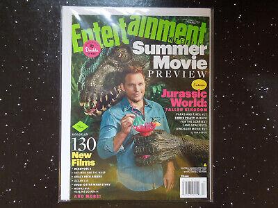 Jurassic World Fallen Kingdom - Entertainment Weekly 1512 / 1513 - $4.99