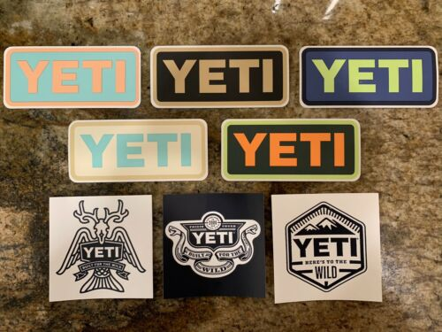 Home Decoration - Yeti Stickers - Various Styles & Colors