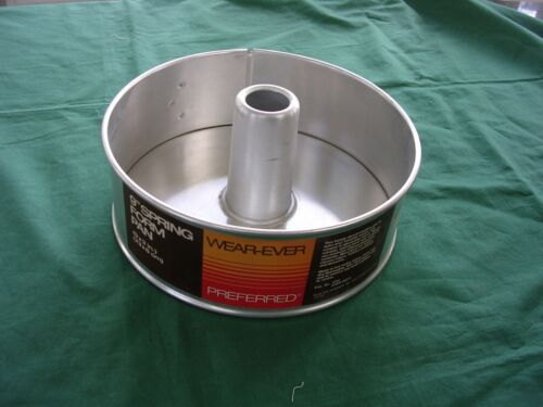 #Y Vintage USA Aluminum Wear-Ever Springform Pan 2741X  SPRING FORM NWT