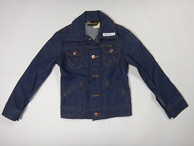 Wrangler Kinder-jeans (36239 Kinder Jacke Jeans Wrangler Gr.  8 bzw 28 dunkel blau _a)
